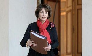 La ministre de la Santé Marisol Touraine à sa sortie du conseil des Ministres à l'Elysée, le 3 février 2016