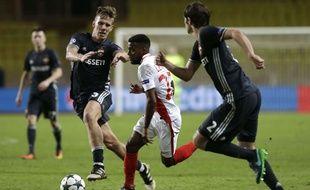 Thomas Lemar, le 2 novembre 2015 avec Monaco.
