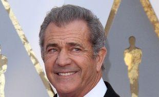 L'acteur Mel Gibson aux Oscars en 2017