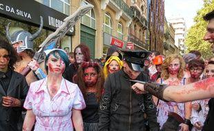 Après la zombie walk à Toulouse, Grisolles est leur prochaine destination. Archives