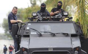 La police mexicaine.