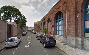 La rue de l'Entrepôt, à Lille.