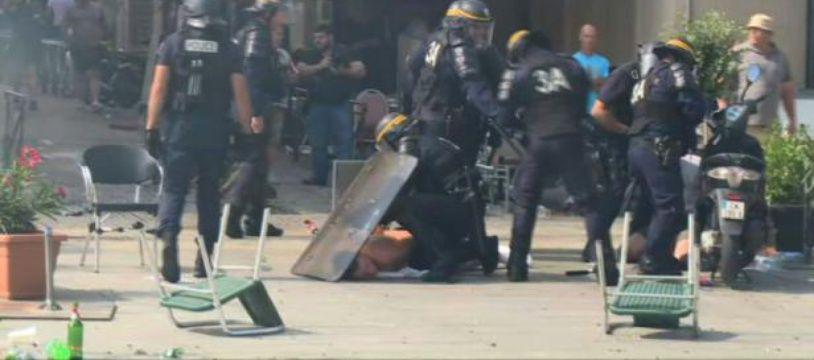 Euro-2016 : incidents au Vieux-Port de Marseille
