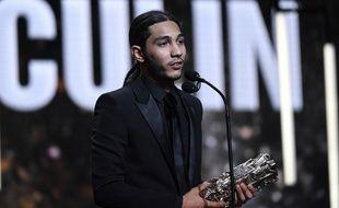 L'acteur Dylan Robert, César du meilleur espoir masculin en 2019.