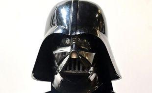 Le casque de Dark Vador utilisé dans « l'Empire contre-attaque».