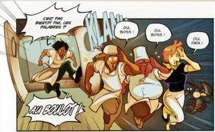 Plutôt speed, l'ambiance dans les cuisines de la bande dessinée «Lord of Burger».
