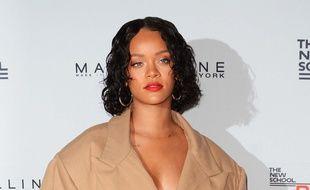 La chanteuse et actrice Rihanna à New York