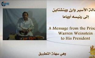 L'otage américain Warren Weinstein apparaît sur une vidéo d'Al-Qaïda, mise en ligne ce week-end, pour la première fois depuis son enlèvement au Pakistan en août dernier, a indiqué le SITE, un réseau américain de surveillance des sites islamistes.