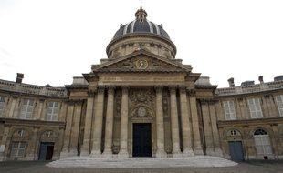 L'Institut de France, où siège l'Académie française.