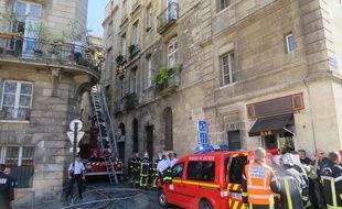 Le 2 septembre 2014, un incendie rue de la Fusterie à Bordeaux a fait un mort