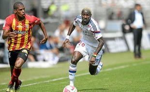 Mohamed Yattara (à d.) a inscrit 2 buts en Ligue Europa, mais aucun en L1.