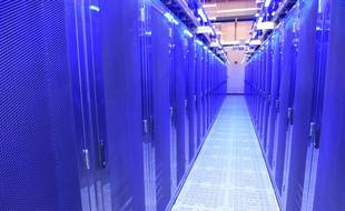 Illustration d'un data center aux Etats-Unis.