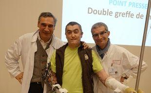 Jean-Michel Schryve est le dernier patient en France à avoir été greffé des deux mains.