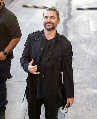 Juanes, le 30 septembre, à Los Angeles.