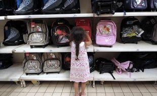 L'allocation de rentrée scolaire, qui aide à payer cartables et fournitures de plus de 5 millions d'enfants et adolescents, est versée à partir de mardi