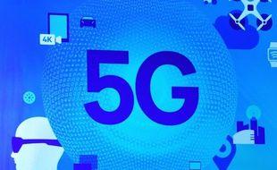 Le réseau 5G (illustration).