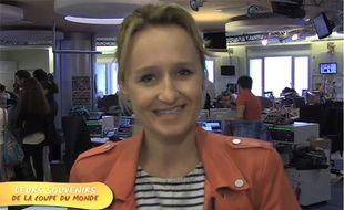 Caroline Roux raconte son #SouvenirDeMondial