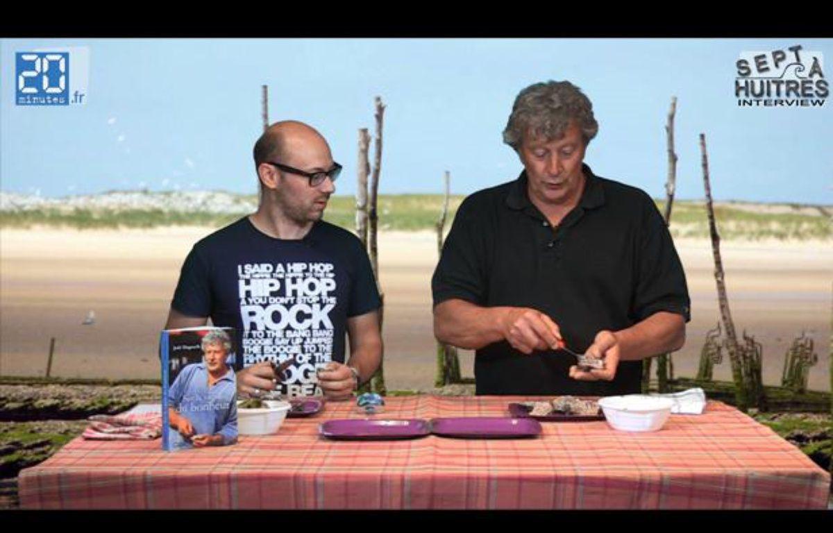 «Jean-Louis-le gars-des-huîtres» nous apprend comment les ouvrir, le 14 juin 2012 – Capture vidéo/ Dailymotion