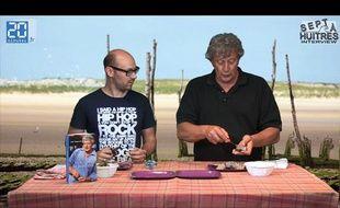 «Jean-Louis-le gars-des-huîtres» nous apprend comment les ouvrir, le 14 juin 2012
