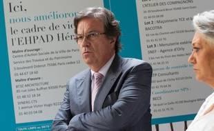 L'ancien ministre socialiste de la Santé Claude Evin, le 22 juillet 2013 à Paris.