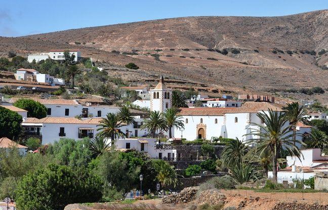 Betancuria, capitale coloniale de Fuerteventura.