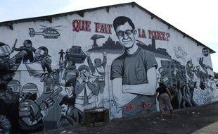 Une fresque en la mémoire de Steve Maia Caniço