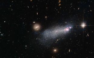 Illustration: une galaxie observée par Hubble.