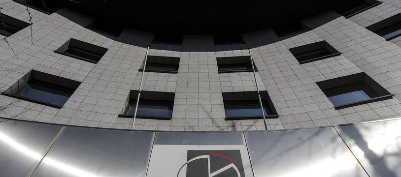 Le bâtiment de l'Insee, à Nantes.