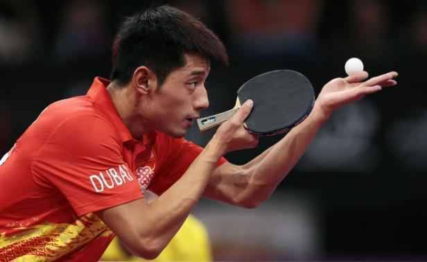Mondiaux de tennis de table zhang jike dans la l gende - Champion du monde de tennis de table ...