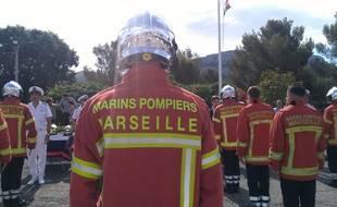 Marins-pompiers de Marseille (Illustration)