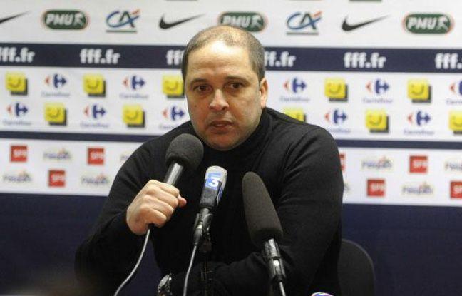 Pablo Correa, au Stade Saint-Symphorien de Met, le 8 janvier 2012.