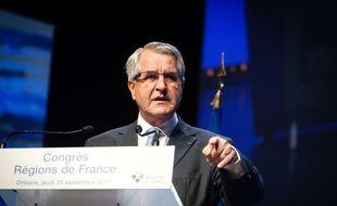 Philippe Richert (LR) lors du Congrés des Régions de France à Orléans le 28 septembre 2017.