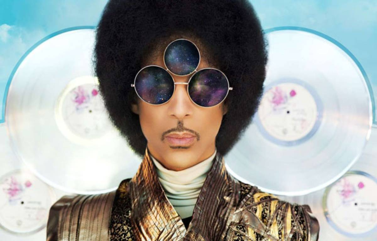 Couverture de l'album de Prince, Art Official Age – Warner