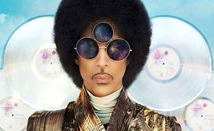 Couverture de l'album de Prince, Art Official Age