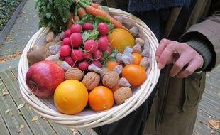 Des fruits et légumes des Paniers des familles