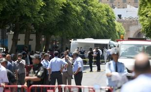 Après les attentats, dans le centre de Tunis.