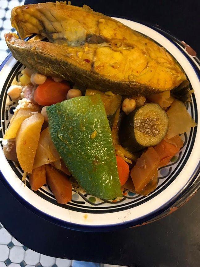 Le couscous au poisson de la Khaena