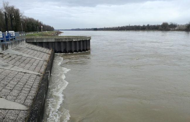 VIDEO. Pic de crue du Rhin: Navigation stoppée et ouverture du polder d'Erstein