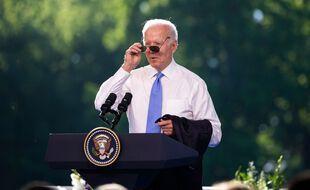 Conférence de presse de Joe Biden après sa rencontre avec Vladimir Poutine à Genève, le 16 juin 2021.