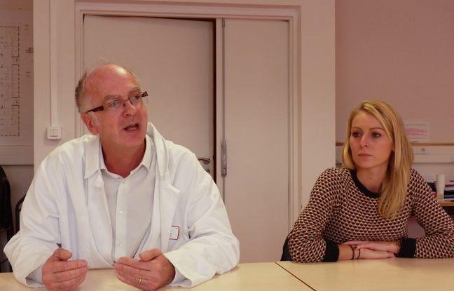 Lyon, le 19 octobre. Le professeur Gérard Lina travaille sur le syndrome du choc toxique depuis des années. A ses côtés, Justine a été victime de cette infection rare mais grave il y a quelques années.