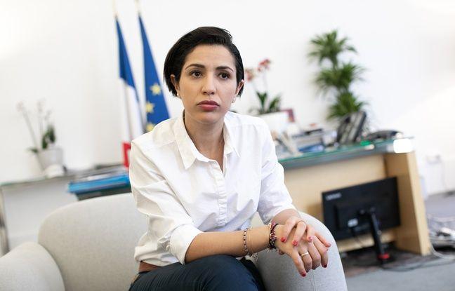 La secrétaire d'État Sarah El Haïry, chargée de la Jeunesse et de l'Engagement.