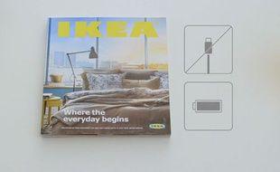 La publicité du nouveau catalogue Ikea, une parodie de publicité pour Apple.