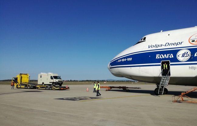 Trois laboratoires containers vont quitter Lyon ce 9 octobre dans le cadre de la lutte contre Ebola.