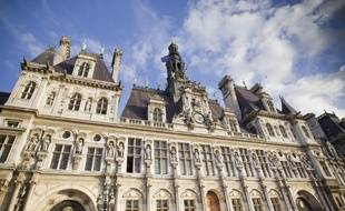 Illustration de la mairie de Paris.