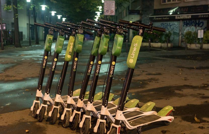 Villeurbanne : Lime obligée de retirer ses trottinettes après un arrêté municipal
