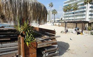 La plupart des restaurants de plage ne sont pas encore ouverts.