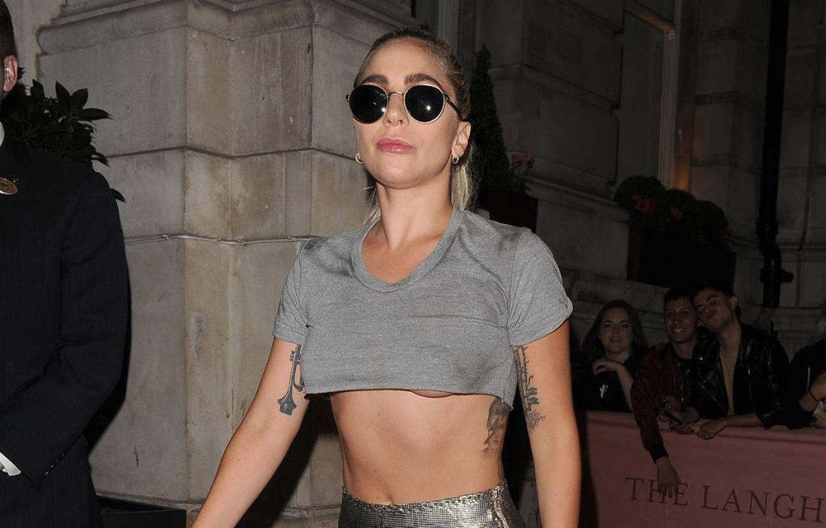 La chanteuse Lady Gaga à Londres – WENN