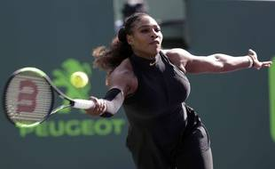 Serena Williams, au mois de mars