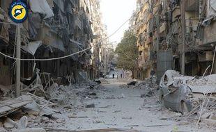 Alep prend des allures de ville fantôme