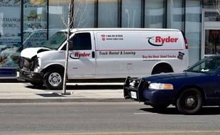 L'auteur de l'attaque au véhicule-bélier qui a fait 10 morts et 15 blessés à Toronto, le 23 avril 2018, avait loué cette camionnette.